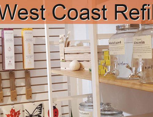 "West Coast Refill promoting ""Refill not Landfill"""