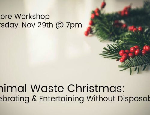 Minimal Waste Christmas: Celebrating & Entertaining Without Disposables