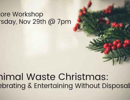 Minimal Waste Christmas