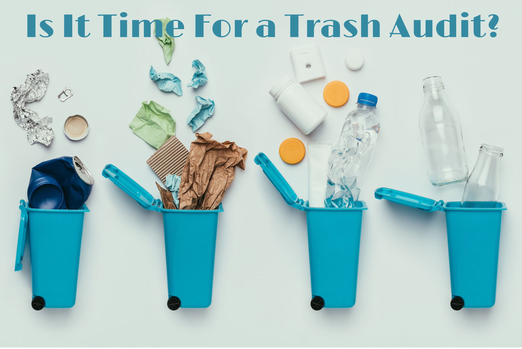 Is it time for a trash audit?